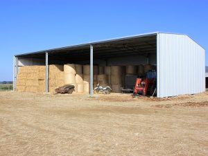 Farm and Machinery shed