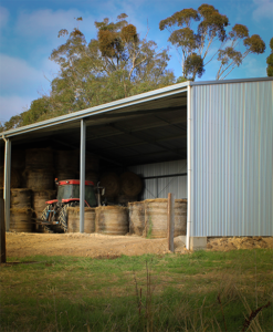 Hay and Machinery Shed