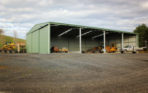 Industrial Machinery Shed
