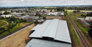 Saleyards roof cover
