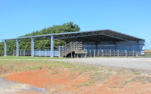 Stockyard covers Bairnsdale Engineering
